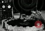 Image of tire vulcanization at Goodrich Rubber Company Akron Ohio USA, 1941, second 38 stock footage video 65675030486