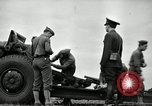 Image of Visiting Latin American officers learn about 155mm howitzer Fort Sill Oklahoma USA, 1942, second 26 stock footage video 65675030493