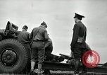 Image of Visiting Latin American officers learn about 155mm howitzer Fort Sill Oklahoma USA, 1942, second 28 stock footage video 65675030493