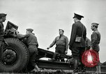 Image of Visiting Latin American officers learn about 155mm howitzer Fort Sill Oklahoma USA, 1942, second 40 stock footage video 65675030493