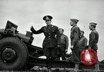 Image of Visiting Latin American officers learn about 155mm howitzer Fort Sill Oklahoma USA, 1942, second 48 stock footage video 65675030493