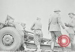 Image of Visiting Latin American officers learn about 155mm howitzer Fort Sill Oklahoma USA, 1942, second 60 stock footage video 65675030493