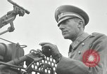 Image of visiting Latin American officers get hands-on experience with gun Fort Riley Kansas USA, 1942, second 21 stock footage video 65675030496