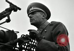 Image of visiting Latin American officers get hands-on experience with gun Fort Riley Kansas USA, 1942, second 23 stock footage video 65675030496