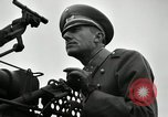 Image of visiting Latin American officers get hands-on experience with gun Fort Riley Kansas USA, 1942, second 26 stock footage video 65675030496