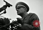 Image of visiting Latin American officers get hands-on experience with gun Fort Riley Kansas USA, 1942, second 27 stock footage video 65675030496