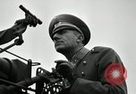 Image of visiting Latin American officers get hands-on experience with gun Fort Riley Kansas USA, 1942, second 32 stock footage video 65675030496
