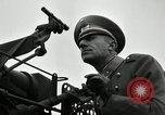 Image of visiting Latin American officers get hands-on experience with gun Fort Riley Kansas USA, 1942, second 36 stock footage video 65675030496