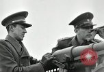 Image of visiting Latin American officers get hands-on experience with gun Fort Riley Kansas USA, 1942, second 60 stock footage video 65675030496