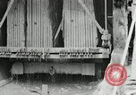 Image of sandstone splitting and curbing Ohio United States USA, 1915, second 44 stock footage video 65675030499