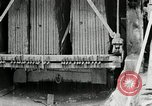 Image of sandstone splitting and curbing Ohio United States USA, 1915, second 48 stock footage video 65675030499