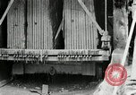 Image of sandstone splitting and curbing Ohio United States USA, 1915, second 49 stock footage video 65675030499