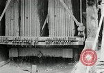 Image of sandstone splitting and curbing Ohio United States USA, 1915, second 52 stock footage video 65675030499