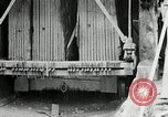 Image of sandstone splitting and curbing Ohio United States USA, 1915, second 53 stock footage video 65675030499
