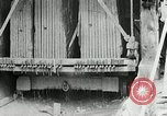 Image of sandstone splitting and curbing Ohio United States USA, 1915, second 58 stock footage video 65675030499
