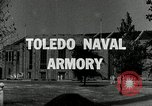 Image of Toledo Naval Armory in Great Depression Toledo Ohio USA, 1937, second 1 stock footage video 65675030501