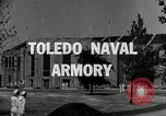 Image of Toledo Naval Armory in Great Depression Toledo Ohio USA, 1937, second 2 stock footage video 65675030501