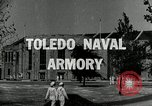 Image of Toledo Naval Armory in Great Depression Toledo Ohio USA, 1937, second 4 stock footage video 65675030501