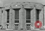 Image of Toledo Naval Armory in Great Depression Toledo Ohio USA, 1937, second 6 stock footage video 65675030501