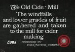 Image of cider making mill United States USA, 1916, second 1 stock footage video 65675030539