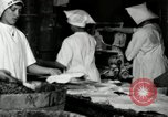 Image of apple pie manufacturing unit United States USA, 1916, second 29 stock footage video 65675030540
