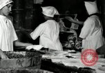 Image of apple pie manufacturing unit United States USA, 1916, second 30 stock footage video 65675030540
