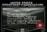 Image of Pan American Highway Commission Washington DC USA, 1924, second 22 stock footage video 65675030545