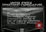 Image of Pan American Highway Commission Washington DC USA, 1924, second 23 stock footage video 65675030545