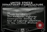 Image of Pan American Highway Commission Washington DC USA, 1924, second 27 stock footage video 65675030545