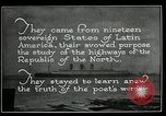 Image of Pan American Highway Commission Washington DC USA, 1924, second 42 stock footage video 65675030545