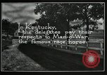 Image of Man O War Kentucky United States USA, 1924, second 3 stock footage video 65675030549