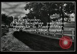 Image of Man O War Kentucky United States USA, 1924, second 7 stock footage video 65675030549
