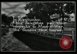 Image of Man O War Kentucky United States USA, 1924, second 9 stock footage video 65675030549