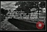 Image of Man O War Kentucky United States USA, 1924, second 10 stock footage video 65675030549