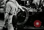 Image of Rubber tire manufacture Akron Ohio USA, 1924, second 43 stock footage video 65675030556