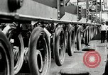 Image of Rubber tire manufacture Akron Ohio USA, 1924, second 55 stock footage video 65675030556