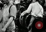Image of Rubber tire manufacture Akron Ohio USA, 1924, second 59 stock footage video 65675030556
