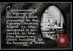 Image of Highway of Friendship plaque Washington DC USA, 1925, second 4 stock footage video 65675030560