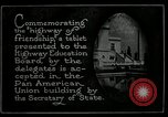 Image of Highway of Friendship plaque Washington DC USA, 1925, second 21 stock footage video 65675030560