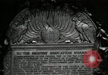 Image of Highway of Friendship plaque Washington DC USA, 1925, second 46 stock footage video 65675030560