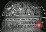 Image of Highway of Friendship plaque Washington DC USA, 1925, second 48 stock footage video 65675030560