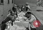 Image of Goodyear barrage balloons Akron Ohio USA, 1941, second 20 stock footage video 65675030562