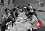 Image of Goodyear barrage balloons Akron Ohio USA, 1941, second 23 stock footage video 65675030562