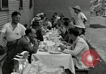 Image of Goodyear barrage balloons Akron Ohio USA, 1941, second 24 stock footage video 65675030562