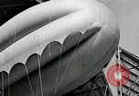 Image of Goodyear barrage balloons Akron Ohio USA, 1941, second 49 stock footage video 65675030562