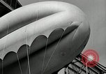 Image of Goodyear barrage balloons Akron Ohio USA, 1941, second 51 stock footage video 65675030562