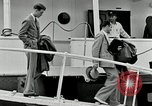 Image of Goodyear managers return Akron Ohio USA, 1941, second 46 stock footage video 65675030563