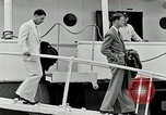 Image of Goodyear managers return Akron Ohio USA, 1941, second 48 stock footage video 65675030563