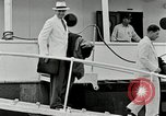 Image of Goodyear managers return Akron Ohio USA, 1941, second 51 stock footage video 65675030563
