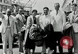 Image of Goodyear managers return Akron Ohio USA, 1941, second 55 stock footage video 65675030563